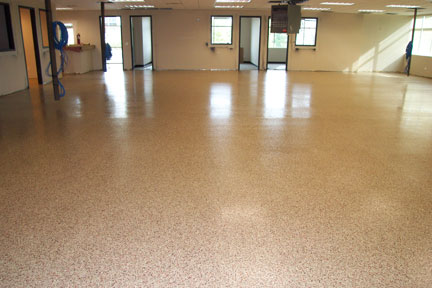 coast guard epoxy flooring